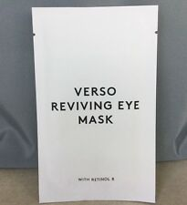 Verso Reviving Eye Mask - 1 Packet Eye Gel Pads Retinol 8 Anti Age Hydration New