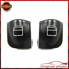2x MERCEDES C CLASS W203 PAIR OF WINDOW CONTROL POWER BUTTON SWITCH COVER
