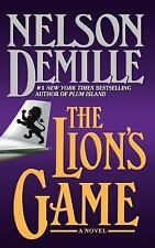The Lion's Game Nelson DeMille Hardcover Fiction Action Mystery Suspense Novel