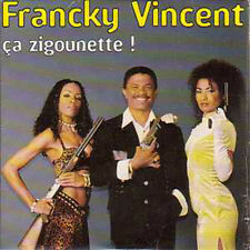CD single Card sleeve Francky VINCENT ZOUK Ca zigounette