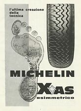 W5517 Pneumatici MICHELIN Xas asimmetrico - Pubblicità 1967 - Advertising