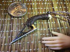 """""""Alien Hunter's Blade"""" 1:6 Scale Knife Custom Steel Miniature By Auret"""