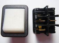 2 Stück Wippschalter Schalter 1xEINAUS 250V 16A Kontroll Leuchte Anzeige#19S01--