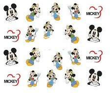 Nail Art Decals Transfers Stickers Mickey Mouse (DA370)