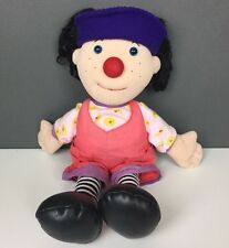 """1995 Big Comfy Couch Loonette Clown Plush Doll 20"""" Commonwealth"""