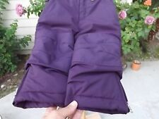 2T Lands' End Grow-A-Longs Snow-Powder Pants in Grape / Durable Quality