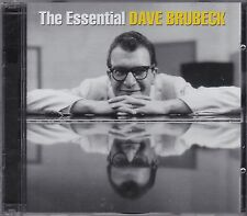 THE ESSENTIAL DAVE BRUBECK on 2 CD's - NEW -