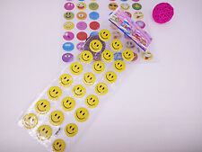 3 sheets cartoon smile Bubble stickers lot kids Birthday party Bag Fillers gift