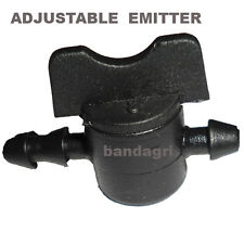 50 NOS. ADJUSTABLE EMITTER-0 TO 20 LTS (WITH STOP PROVISION) DRIP IRRIGATION KIT
