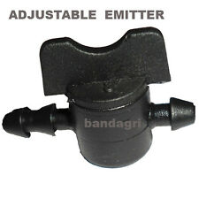 10 NOS. ADJUSTABLE EMITTER-0 TO 20 LTS (WITH STOP PROVISION) DRIP IRRIGATION KIT