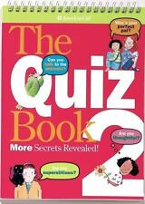 American Girl The Quiz Book 2 Paperback Spiral Bound Book NEW Book