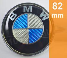 BMW Emblem Motorhaube Heckklappe 1er 3er 5er 6er 7er Carbon Optik 82mm