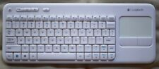 Logitech K400 Wireless Touch Keyboard with Built-In Multi-Touch Touchpad White