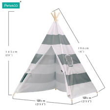 2016 WIGWAM KIDS CHILDRENS INDIAN TEEPEE TIPI TENT PLAY HOUSE  INDOOR OUTDOOR