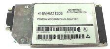 SCHNEIDER MODICON 416NHM21203 PCMCIA MODBUS PLUS ADAPTER, M/N: 043508724