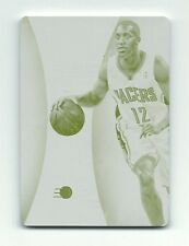 Evan Turner Pacers 2015 Immaculate Collection YELLOW Printing Plate Card 1/1