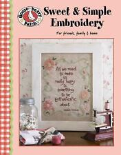 Gooseberry Patch: Sweet & Simple Embroidery (Leisure Arts #4255) (Gooseberry Pat