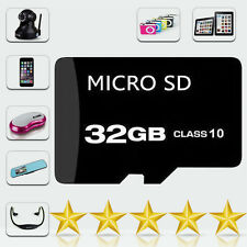 32GB Class 10 Micro SD SDHC mini Memory Card TF Flash - UK Seller