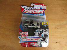Transformers Action Figure deluxe class Animated Autobot Jazz 2008 MOSC New