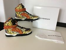 Givenchy Tyson Haute Multicolour high Top Sneakers Eu38 Uk 5, RRP £715, NEW