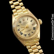ROLEX PRESIDENT DATEJUST Ladies Bracelet Watch - 18K Gold