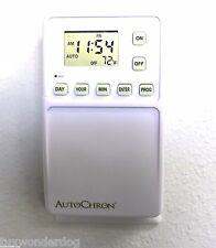 3 Pack of AutoChron Automatic Programmable Wall Switch Timers