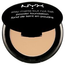 NYX Stay Matte But Not Flat Powder Foundation SMP03 NATURAL