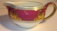 Rare Wedgwood Columbia Powder Ruby Milk / Cream Jug - New
