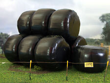 10 x  MODEL SILAGE BALES 1/32 SCALE DIORAMA FOR BRITAINS SIKU TOY FARM FB035