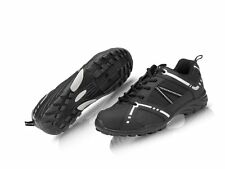 RALEIGH XLC ROAD TOURING CYCLE BIKE SHOES BLACK FLAT OR CLEATS SIZE 41 UK 7