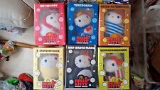 McDonalds Happy Meal Hello Kitty Bubbly Plush Toys Set of 6 Limited Edition Doll