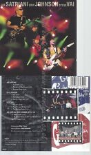 CD--G3, JOE SATRIANI, ERIC JOHNSON UND STEVE VAI -- -- G3-LIVE IN CONCERT