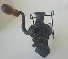 1800's Antique CG Gesetzlich Geschutzt Bean Slicer Cutter Grinder Cast Iron