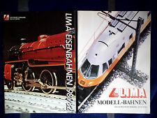 LIMA Modell - Bahnen 1981/82 und  1983/84 ,H0 / N /0 Spur  Eisenbahn Kataloge ��