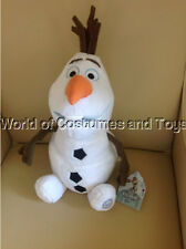 "Disney Frozen Olaf Soft Plush Toy Doll 18"" super cute"