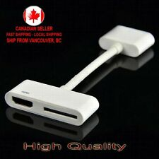 Digital AV 30 pin to HDMI TV with Charging Adapter for iPad 2 3 iPhone 4S