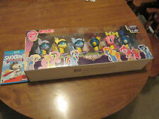 MY LITTLE PONY WONDERBOLTS set 6 PACK rainbow dash,spitfire,sorian,fluttershy ET