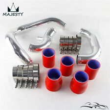 Upgrade Bolt On Front Mount Intercooler Piping Kit For AUDI A4 1.8T B5 98-01 Red