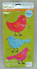 Accuquilt GO! Birds Fabric Cutting Die FREE Pattern Included! ~ NEW