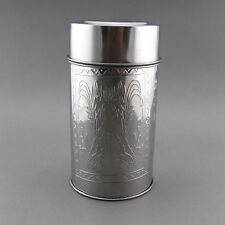 Professional Airstream Tea Canister Coffee Bean Caddy Tea Can Double Cover