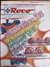 Catalogo ROCO novità 1985 - MULTI LANGUAGES - Tr.11