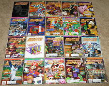 Lot of 20 Issues of Nintendo Power Magazine, Magazines, 1995 & 1996
