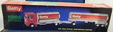Getty 1996 Series Tandem Tanker Toy Truck 3rd year Special Anniversary with box