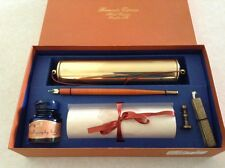 Stuart Houghton Limited Calligraphy Pen & Ink Gift Set Exclusive Hotel Gift NEW