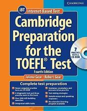 Cambridge Preparation For The Toefl Test by Jolene Gear With CD