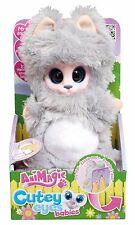 Animagic Cutey Eyes Babies Poppy Kitten Plush - Brand New