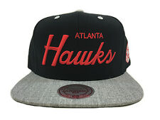 ATLANTA HAWKS HEATHER SPECIAL SCRIPT Mitchell & Ness Snapback Hat