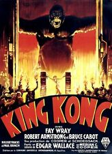 King Kong Fay Wray 1933 cult movie poster print #A13