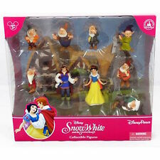 Disney Parks Snow White And Seven Dwarfs Figure Cake Topper Playset New Box