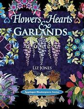 Flowers, Hearts and Garlands Quilt (Applique Masterpiece) by Jones
